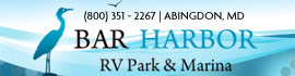 logo for Bar Harbor RV Park & Marina