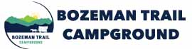 logo for Bozeman Trail Campground