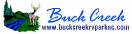 logo for Buck Creek RV Park