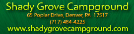 logo for Shady Grove Campground