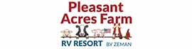 logo for Pleasant Acres Farm RV Resort
