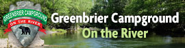 logo for Greenbrier Campground