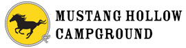 logo for Mustang Hollow Campground