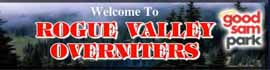 logo for Rogue Valley Overniters