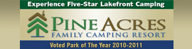 logo for Pine Acres Family Camping Resort
