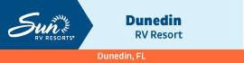 logo for Dunedin RV Resort