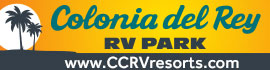 logo for Colonia Del Rey RV Park
