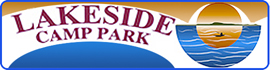 logo for Lakeside Camp Park