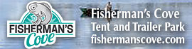 logo for Fisherman's Cove Tent & Trailer Park