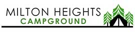 logo for Milton Heights Campground