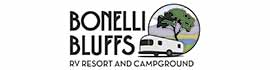 logo for Bonelli Bluffs RV Resort & Campground