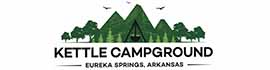 logo for Kettle Campground, Cabins & RV Park