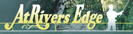 logo for AtRivers Edge RV Resort