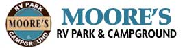 logo for Moore's RV Park & Campground