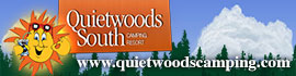logo for Quietwoods South Camping Resort