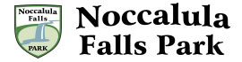 logo for Noccalula Falls Campground
