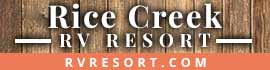 logo for Rice Creek RV Resort