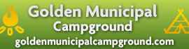 logo for Golden Municipal Campground
