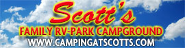 logo for Scott's Family RV-Park Campground