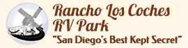 logo for Rancho Los Coches RV Park