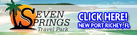 logo for Seven Springs Travel Park