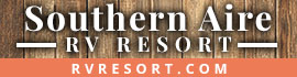logo for Southern Aire RV Resort