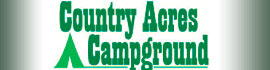 logo for Country Acres Campground