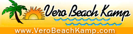 logo for Vero Beach Kamp