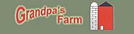 logo for Grandpa's Farm