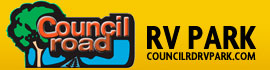 logo for Council Road RV Park