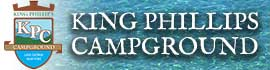 logo for King Phillips Campground