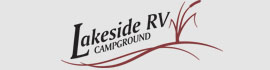 logo for Lakeside RV Campground