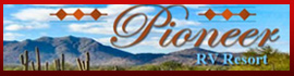 logo for Pioneer RV Resort