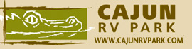 logo for Cajun RV Park