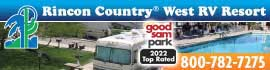 logo for Rincon Country West RV Resort
