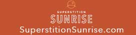 logo for Superstition Sunrise RV Resort