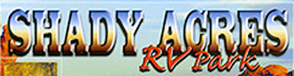 logo for Shady Acres RV Park
