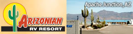 logo for Arizonian RV Resort