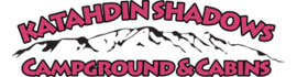 logo for Katahdin Shadows Campground & Cabins
