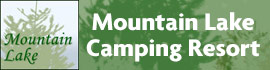 logo for Mountain Lake Camping Resort