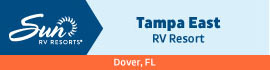 logo for Tampa East RV Resort