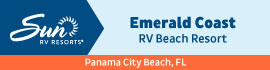 logo for Emerald Coast RV Beach Resort