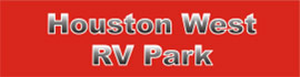 logo for Houston West RV Park