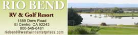 logo for Rio Bend RV & Golf Resort