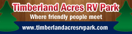 logo for Timberland Acres RV Park