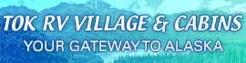 logo for Tok RV Village & Cabins