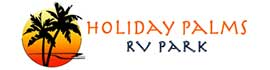 logo for Holiday Palms Resort
