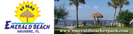 logo for Emerald Beach RV Park