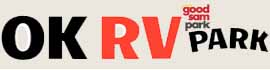 logo for OK RV Park