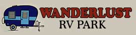 logo for Wanderlust RV Park